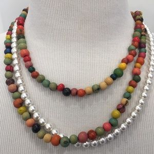 HARRY STYLES INSPIRED COLORFUL BEADED NECKLACE MEN